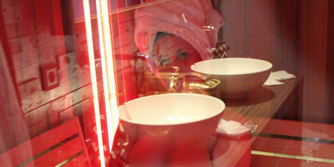 nikita in sauna blog 1400x1200 1148x574 - Prive ontvangst was a success!
